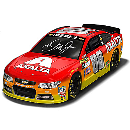 Dale Earnhardt Jr. #88 Axalta 2016 NASCAR Sprint Cup Series Race Car Sculpture