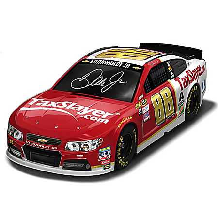 Dale Earnhardt Jr. #88 TaxSlayer.com 2016 NASCAR Sprint Cup Series Race Car Sculpture
