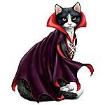 Count Cat-ula Halloween Cat Figurine