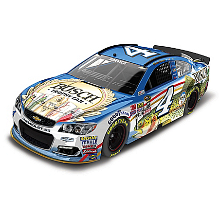 Kevin Harvick No. 4 Busch Beer Fishing 2016 1:24 Scale Diecast Car