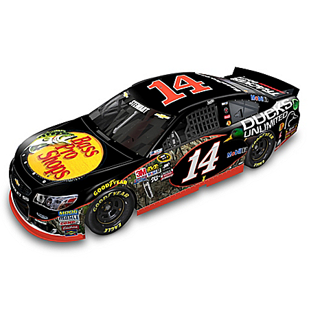 Tony Stewart No. 14 Bass Pro Shops/Ducks Unlimited Chevrolet SS Diecast Car