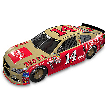 Tony Stewart No. 14 COCA-COLA Chevrolet SS Diecast Car