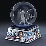 New York Yankees Lou Gehrig Laser-Etched Glass Sculpture