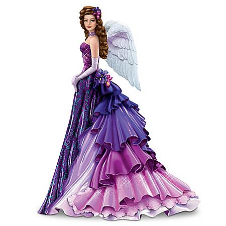 Radiant Hope Alzheimer's Awareness Angel Figurine