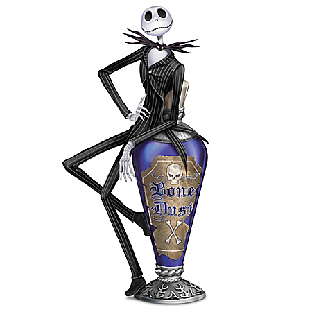 Disney Tim Burton's The Nightmare Before Christmas Jack's Bone Dust Figurine