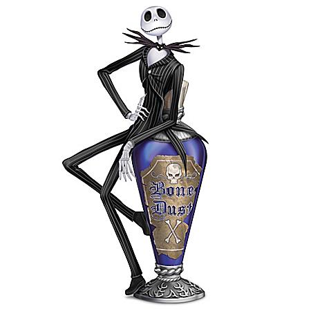 Disney Tim Burton's The Nightmare Before Christmas Jack's Bone Dust Figurine