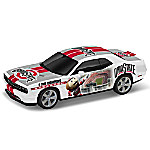 Ohio State Buckeyes Power & Pride Collage Car 1 - 18 Scale Dodge Challenger Sculpture