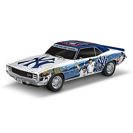 New York Yankees World Series Champions 1969 Chevy Camaro Sculpture: 1:18 Scale