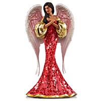 Keith Mallett: Love In Abundance Angel Figurine