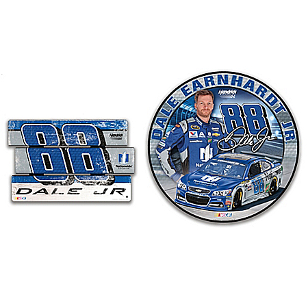 Dale Earnhardt Jr. No. 88 Nationwide Signs Of A Champion Wall Decor