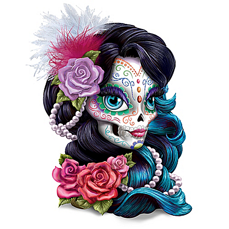 Blake Jensen: Spirit Of Love Sugar Skull Figurine