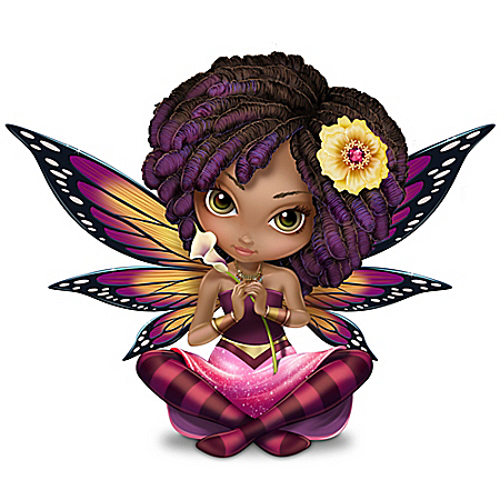Jasmine Becket-Griffith On The Wings Of Love Fairy Figurine