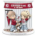 Together We're A Winning Team Alabama Crimson Tide Precious Moments Figurine