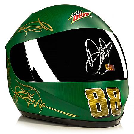 #88 Dale Earnhardt, Jr. Mountain Dew Shine Autographed Helmet