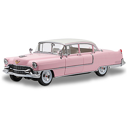 1:18 Elvis Presley 1955 Fleetwood Cadillac Series 60 Diecast Car