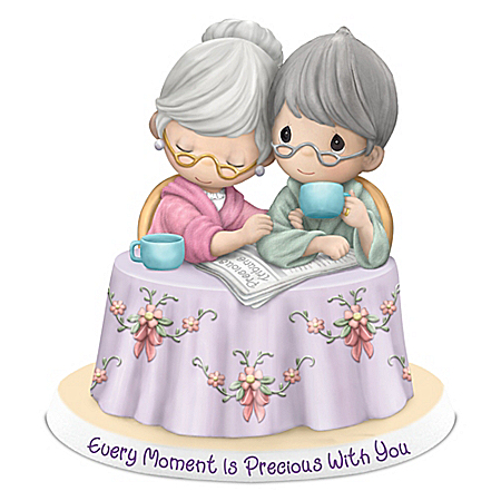 Precious Moments Every Moment Is Precious With You Porcelain Figurine