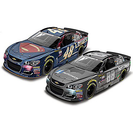 1:64-Scale Batman And Superman 2016 Chevrolet SS Diecast Car Set
