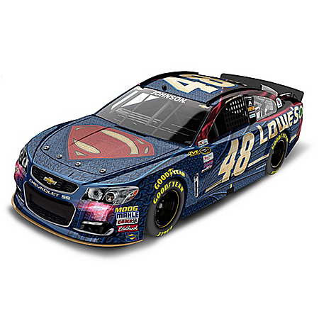 Jimmie Johnson No. 48 Lowe's Superman 2016 Chevrolet SS Diecast Car