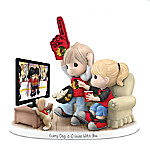 Precious Moments Every Day Is A Goal With You Porcelain Figurine
