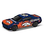 Denver Broncos Power & Pride Super Bowl Victory Car Sculpture