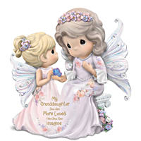 Granddaughter, You Are Loved More Than You Can Imagine Precious Moments Figurine