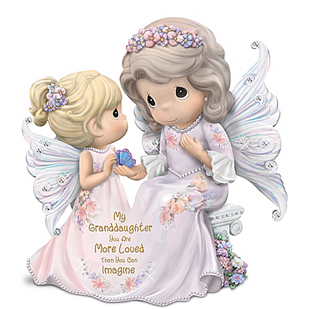 Granddaughter, You Are Loved More Than You Can Imagine - Precious Moments Figurine