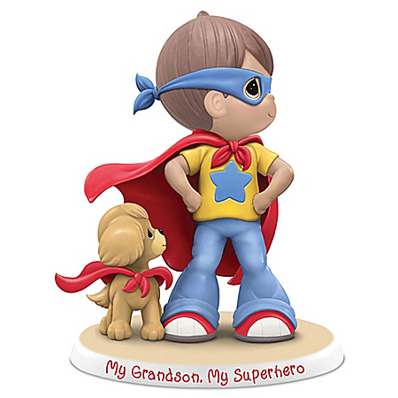 Precious Moments My Grandson My Super Hero Handcrafted Figurine