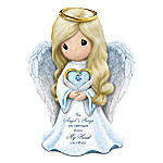 Precious Moments Memories Of Love Guardian Angel Swarovski Crystal Figurine