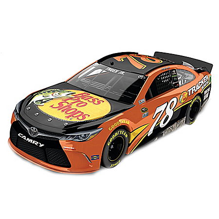 Martin Truex Jr. No. 78 Bass Pro Shop 2016 Toyota Camry Diecast Car