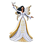 Keith Mallett God Helps You Handle What You Are Given Figurine With A Swarovski Crystal