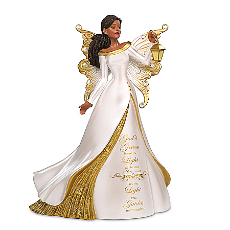 Keith Mallett The Light That Guides Us Angel Figurine