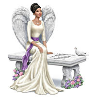 Keith Mallett Heaven's Embrace Bereavement Angel Figurine