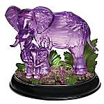 Mystical Enchanted Elephant Crystalline Figurine