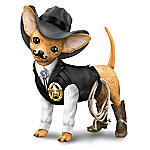She-ruff Paws Handcrafted Chihuahua Figurine