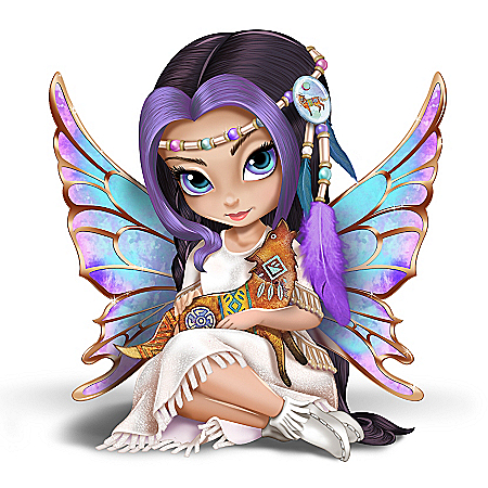 Jasmine Becket-Griffith Moonchaser, The Brave Mystical Maiden Fairy Figurine