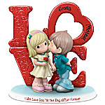 Precious Moments I Will Love You 'Til The Day After Forever Personalized Figurine