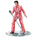 Elvis Presley All Shook Up For The Cause Breast Cancer Awareness Figurine