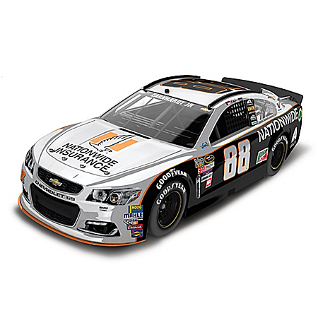 1:24-Scale Dale Earnhardt Jr. No. 88 Gray Ghost 2016 NASCAR Cup Series Diecast Car
