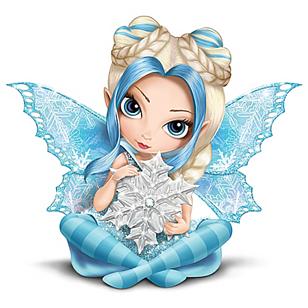 Jasmine Becket-Griffith Touched By Magic Snow Fairy Figurine