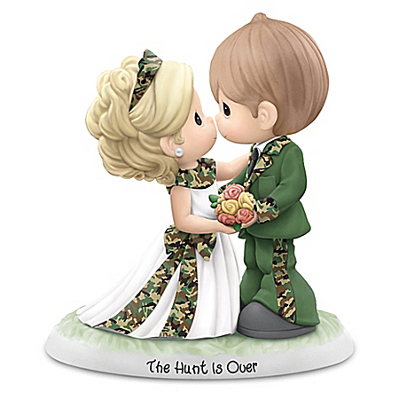 Precious Moments The Hunt Is Over Wedding Figurine