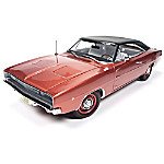 1 - 18-Scale 1968 Dodge Charger R/T Diecast American Muscle Car