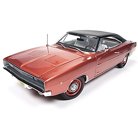 1:18-Scale 1968 Dodge Charger R/T Diecast American Muscle Car