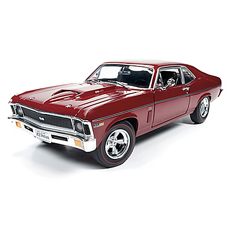 American Muscle 1969 Baldwin Motion Chevy Nova 1:18-Scale Diecast Car
