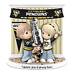 Precious Moments Together We're A Winning Team Pittsburgh Penguins® Figurine