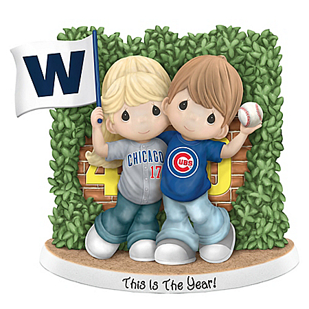 Precious Moments Chicago Cubs This Is The Year Figurine