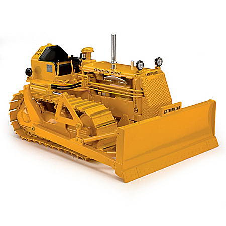 1:16-Scale Caterpillar D4 7U With 4S Blade Diecast Construction Tractor