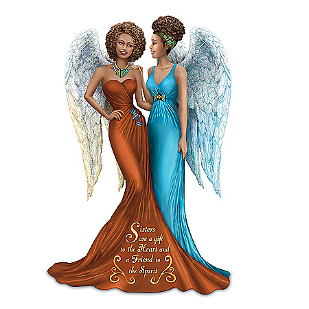 Keith Mallett Sisters Are A Gift To The Heart And A Friend To The Spirit Figurine