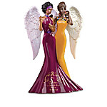 Keith Mallett Sisters Are Joy To The Heart And Love Without End Angel Figurine