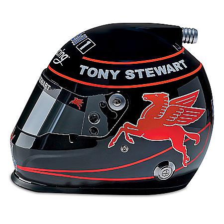 Tony Stewart #14 Mobil 1 NASCAR Last Season Racing Helmet