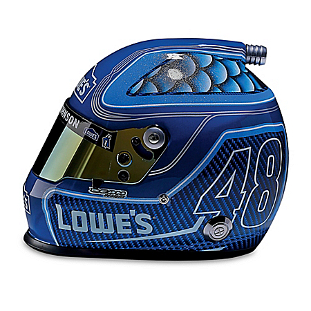 Full-Sized Jimmie Johnson #48 Lowe's NASCAR Racing Helmet
